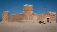 Zubara fort was constructed in 1938 during the reign of Sheikh Abdullah Bin Jassim Al-Thani. The fort served as a coast-guard station and was used by the military until the 1980s.