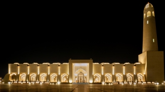 The Imam Muhammad ibn Abd al-Wahhab Mosque is the national mosque of Qatar, named after the Muslim preacher and scholar who founded the Wahhabism Islamic Sect