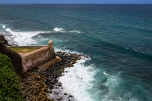 Devil's Sentry Box, named because of the desolation and loneliness felt by soldiers on sentry guard, in Castillo San Cristóbal, Old San Juan (Puerto Rico)