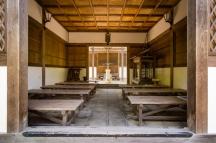 Building in the grounds of Jōjakukō-ji temple in the Arashiyama district of Kyoto (Japan)